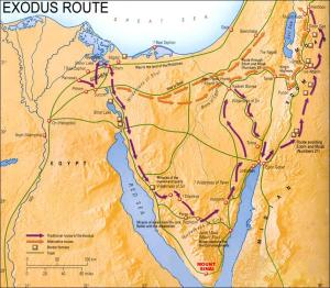route-of-the-exodus