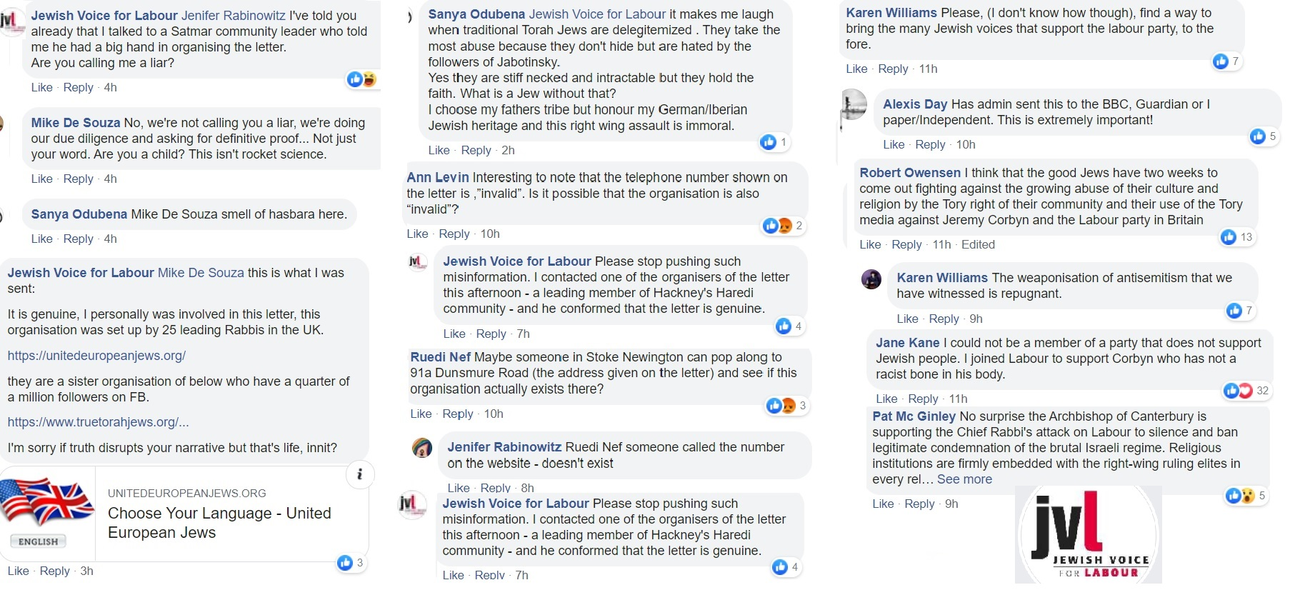 jvl united european jews
